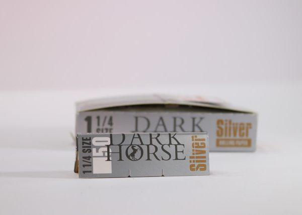 dark horse rizla 1 1/4 silver
